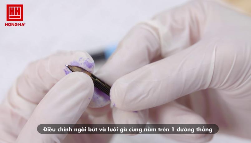 Hướng dẫn sửa ngòi bút máy khi bị gai