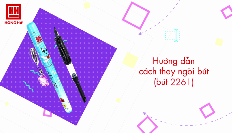 Hướng dẫn cách thay ống mực và ngòi bút máy
