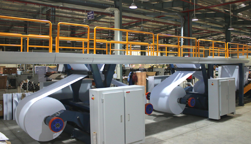 Dây chuyền sản xuất giấy in/photocopy hiện đại bậc nhất
