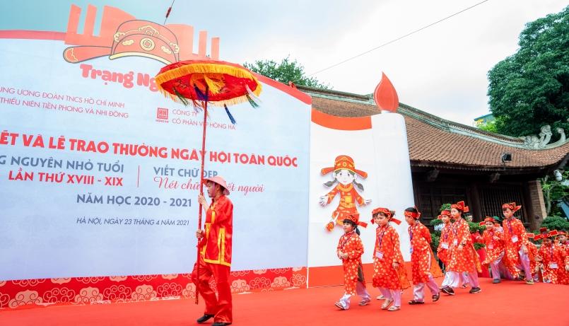Chung kết Trạng Nguyên nhỏ tuổi và Viết chữ đẹp toàn quốc năm học 2020-2021